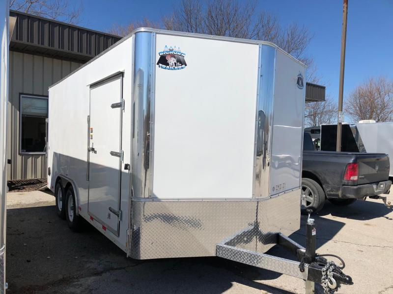 2020 R and M Manufacturing EC 8.5x16 Enclosed Cargo Trailer