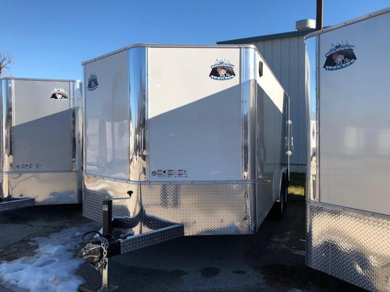 2019 R and M Manufacturing EC 8.5 16 TAC Enclosed Cargo Trailer