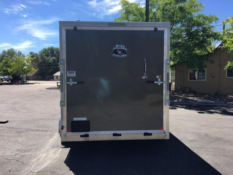 2019 R&M Manufacturing EC 7 14 TAC Enclosed Cargo Trailer-CO SPRINGS