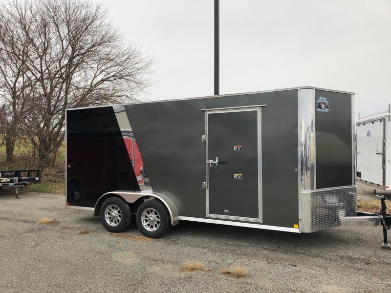 2019 R and M Manufacturing EC 7 16 TA Enclosed Cargo Trailer