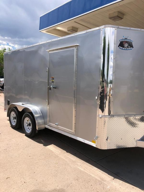 2019 R&M 7x14 Enclosed Cargo Trailer-CO SPRINGS