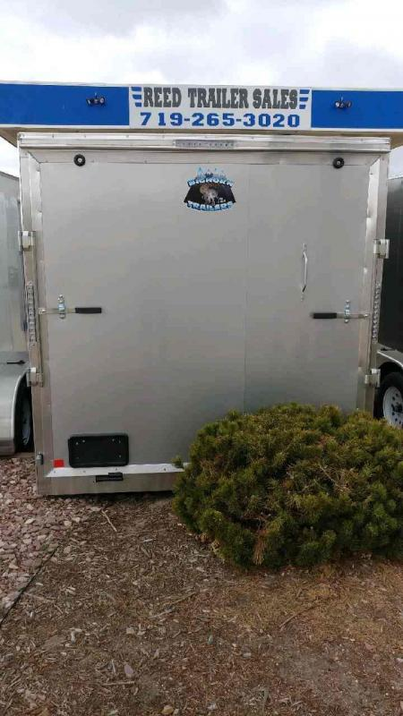 2019 R and M Manufacturing EC 7 14 TA Enclosed Cargo Trailer-CO SPRINGS