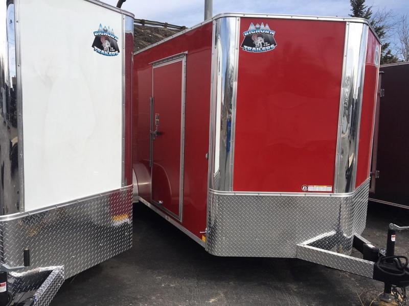 2018 Big Tex Trailers EC 7 16 TA (CONTRACTOR GRADE) Enclosed Cargo Trailer-WHEAT RIDGE
