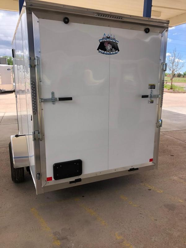 2020 R&M 6x10 v-nose TAS Enclosed Cargo Trailer-CO Springs