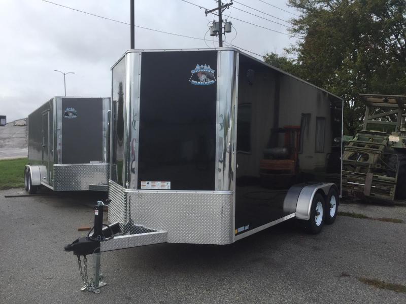 2019 R and M Manufacturing EC 7 16 TAC 84 Enclosed Cargo Trailer