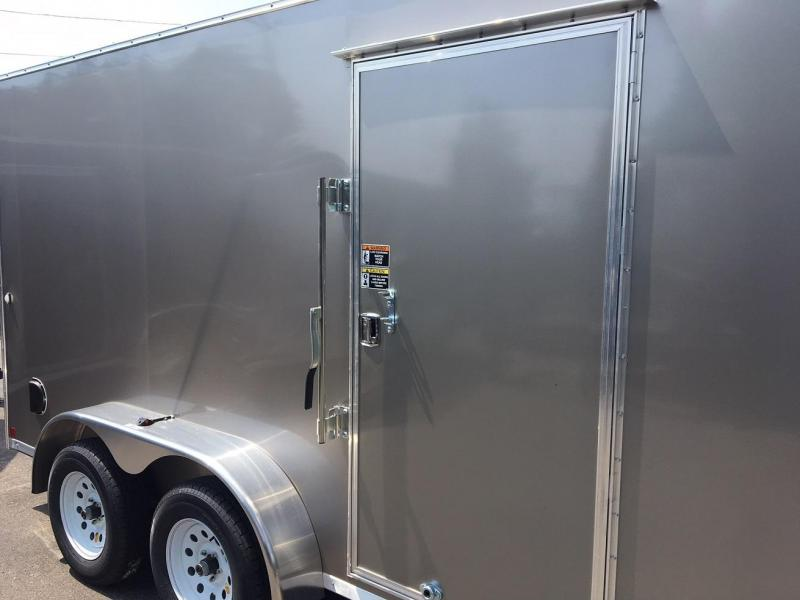2019 R&M Manufacturing EC 7 14 TA (CONTRACTOR GRADE) Enclosed Cargo Trailer-WHEAT RIDGE