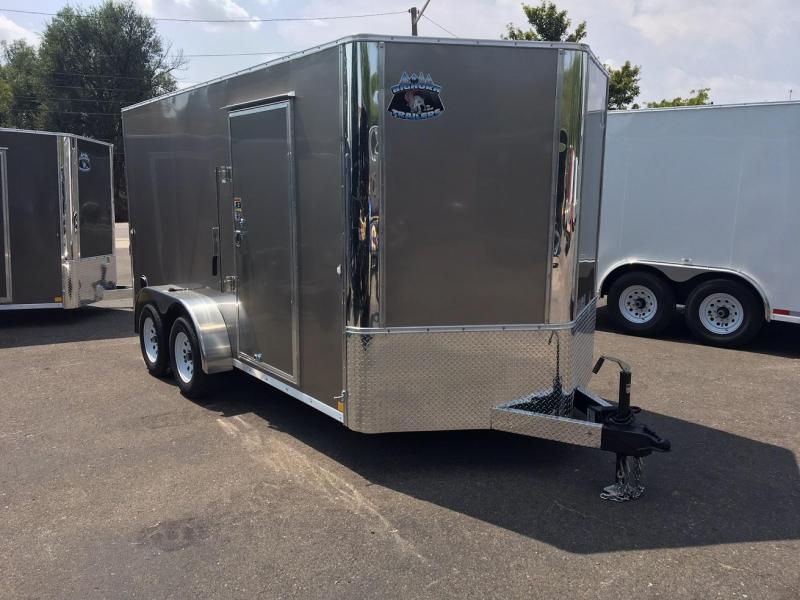 2019 R&M 7x14 (CONTRACTOR GRADE) Enclosed Cargo Trailer-WHEAT RIDGE