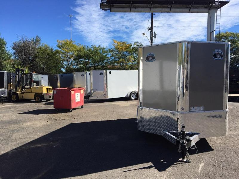 2019 R&M Manufacturing EC 7 12 TA (CONTRACTOR GRADE) Enclosed Cargo Trailer-WHEAT RIDGE