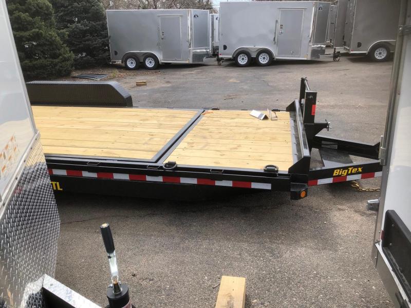 2020 Big Tex Trailers 14TL-20 Equipment Tilt Trailer