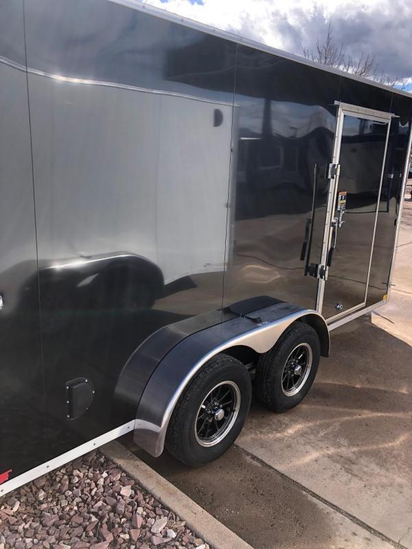 2020 R&M 7x14 v-nose TAC Enclosed Cargo Trailer-CO Springs
