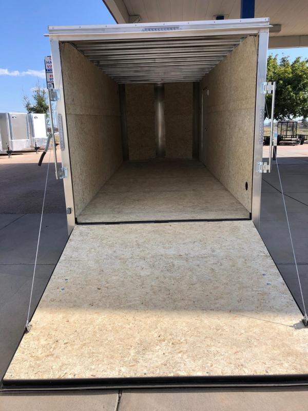 2020 R&M 7x18 v-nose (TAC) Enclosed Cargo Trailer-CO Springs