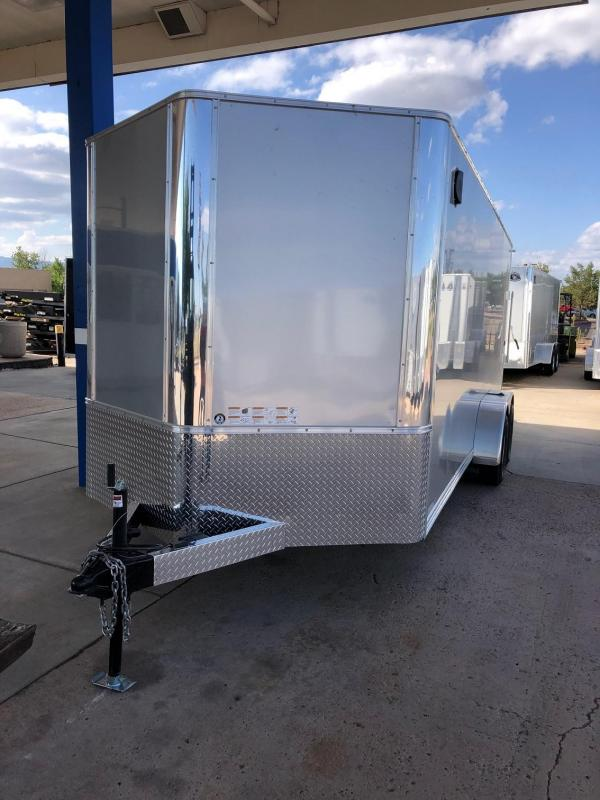 2020 R&M 7x18 v-nose (TAC) Enclosed Cargo Trailer-CO Springs