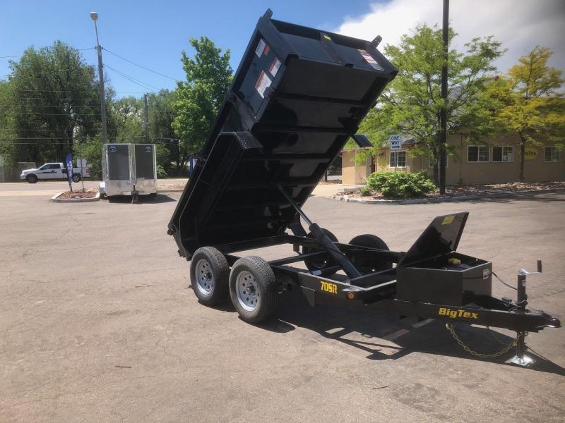 2019 5x10 Big Tex Trailers 70SR Dump Trailer-Wheat RIdge