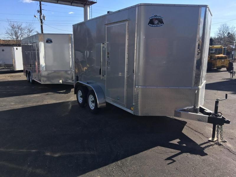 2019 R&M 7x12 TAS Enclosed Cargo Trailer-WHEAT RIDGE