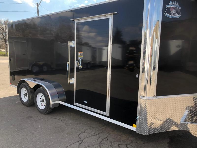 2020 R&M MFG 7x16 TAC Enclosed Cargo Trailer-Wheat Ridge