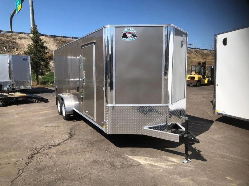 2020 R&M 7X20 V-NOSE TAS Enclosed Cargo Trailer-WHEAT RIDGE