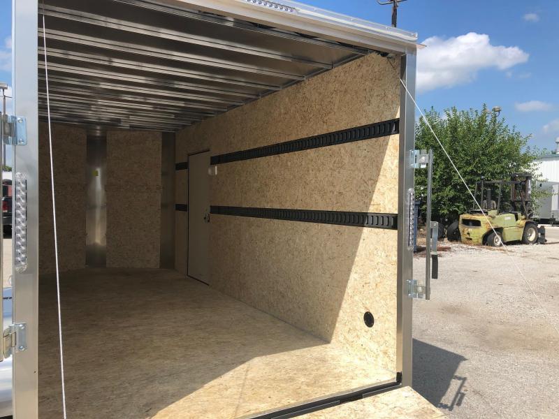 """7x16 Big Horn R&M Cargo Trailer 10K W/84"""" Wall"""