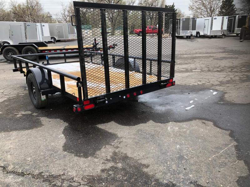 2019 Big Tex Trailers 35SA-12 Utility Trailer-Wheat Ridge