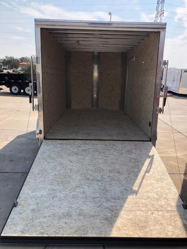 2019 R&M Manufacturing EC 7 12 TA Enclosed Cargo Trailer-CO SPRINGS