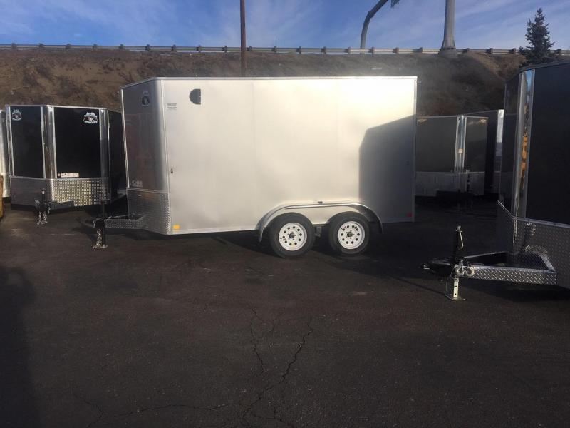 2019 R&M MFG 7x12 TAS Enclosed Cargo Trailer-WHEAT RIDGE