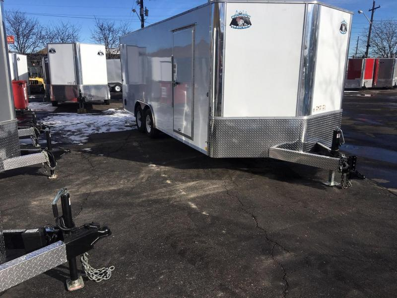 2019 R&M Manufacturing 8.5x20 TAC Enclosed Cargo Trailer-Wheat Ridge