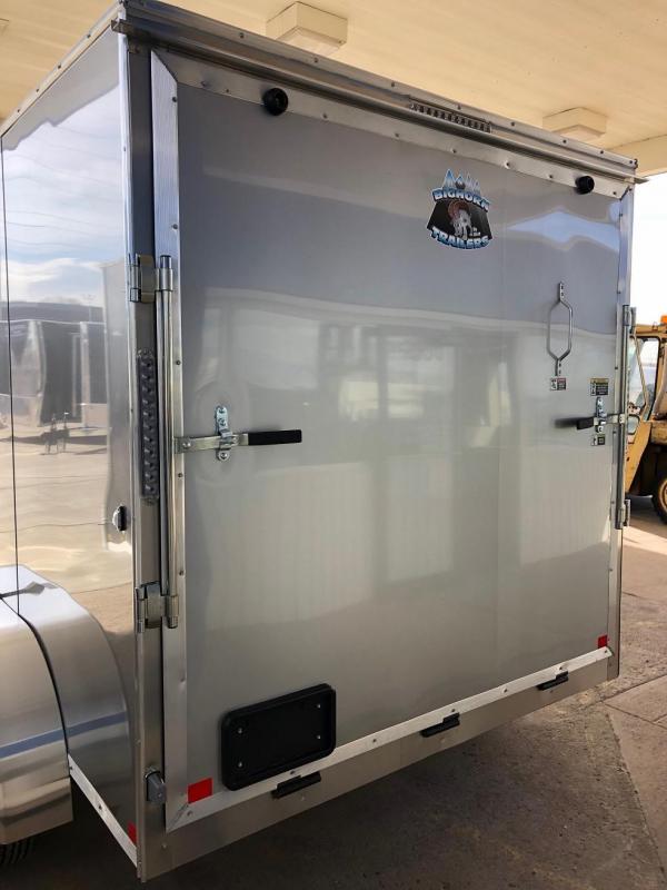 2020 R&M 7x12v-nose (TAS) Enclosed Cargo Trailer-WHEAT RIDGE