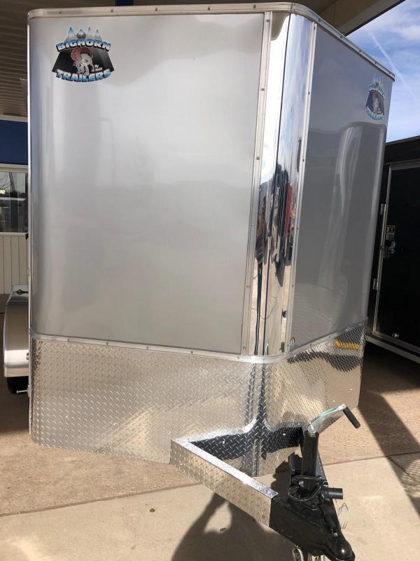 2020 R&M 7x12v-nose (TAS) Enclosed Cargo Trailer-WHEAT RIDGE