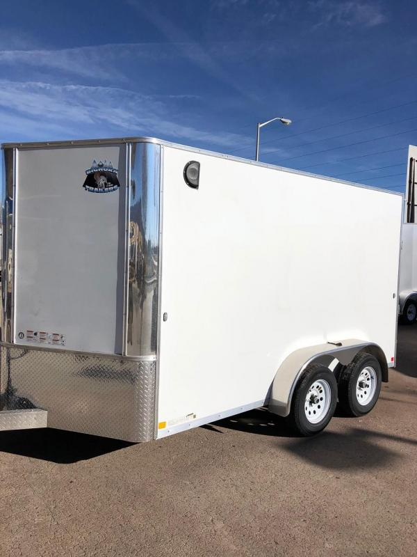 2019 R&M Manufacturing 7x12v-nose TAC Enclosed Cargo Trailer