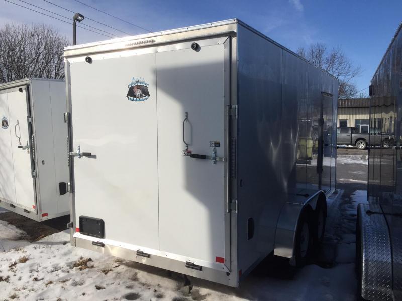 2019 RM Manufacturing EC 7 16 TA 84 Enclosed Cargo Trailer
