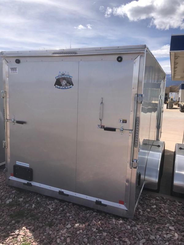 2019 R&M 7x16 Enclosed Cargo Trailer-CO SPRINGS