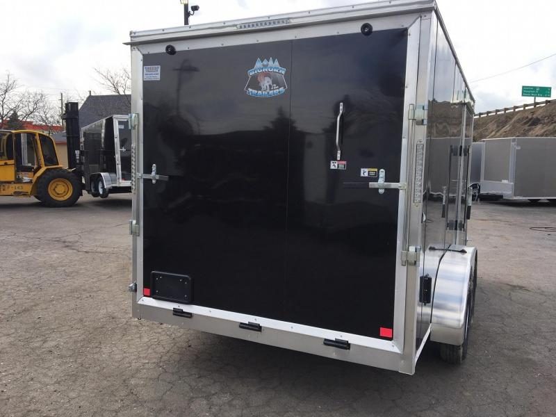 2020 R&M 7X14 v-nose Enclosed Cargo Trailer-Wheat Ridge