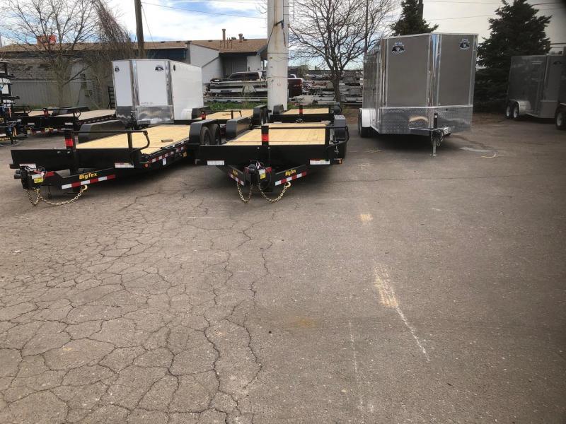 2020 Big Tex Trailers 14TL-22 Equipment Tilt Trailer