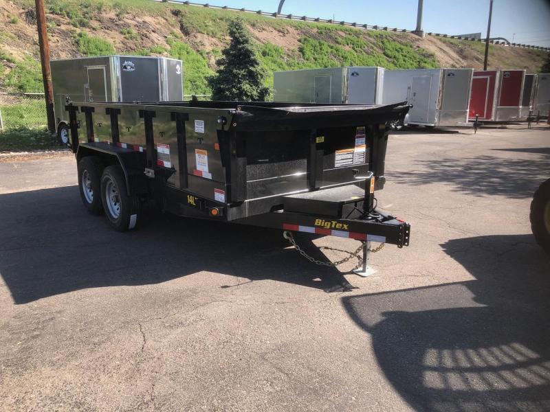 2020 Big Tex 14LX-14' Scissor Lift Hoist Dump Trailer-Wheat Ridge