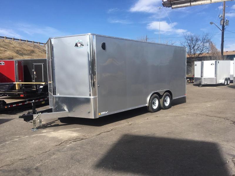 2020 R&M 8.5x18 v-nose 10k Enclosed Cargo Trailer-Wheat Ridge