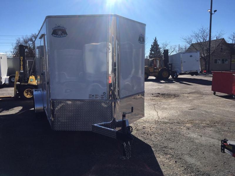2020 R&M Manufacturing 7x16 TAS Enclosed Cargo Trailer-Wheat Ridge
