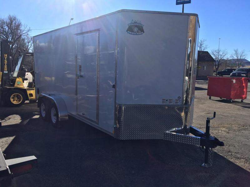 2020 R&M Manufacturing 7x16 TAS Enclosed Cargo Trailer-Wheat Ridge