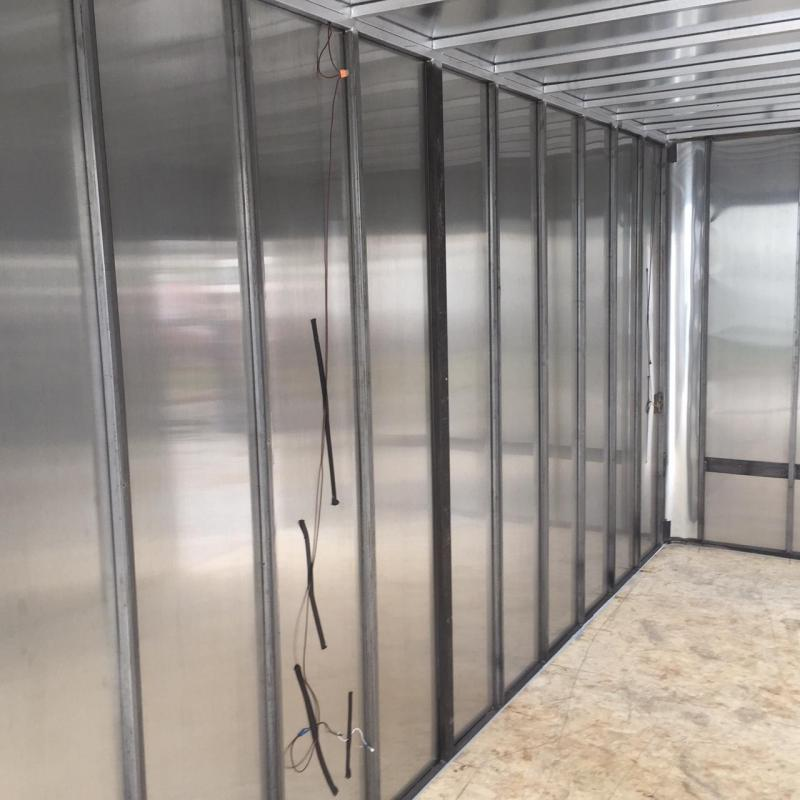2019 R&M Big Horn Contractor Enclosed Cargo Trailer