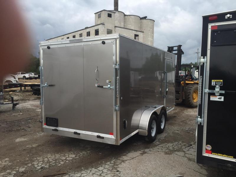 2020 R&M Big Horn Contractor Enclosed Cargo Trailer