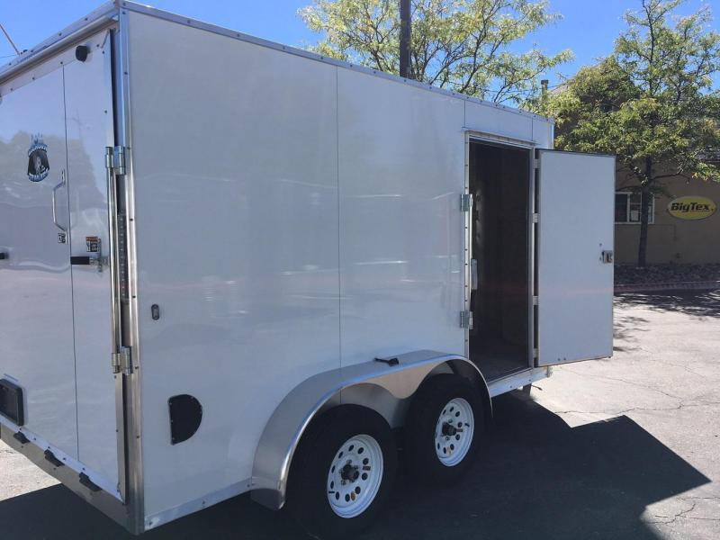 2019 R&M Manufacturing EC 6 12 TA Enclosed Cargo Trailer-WHEAT RIDGE