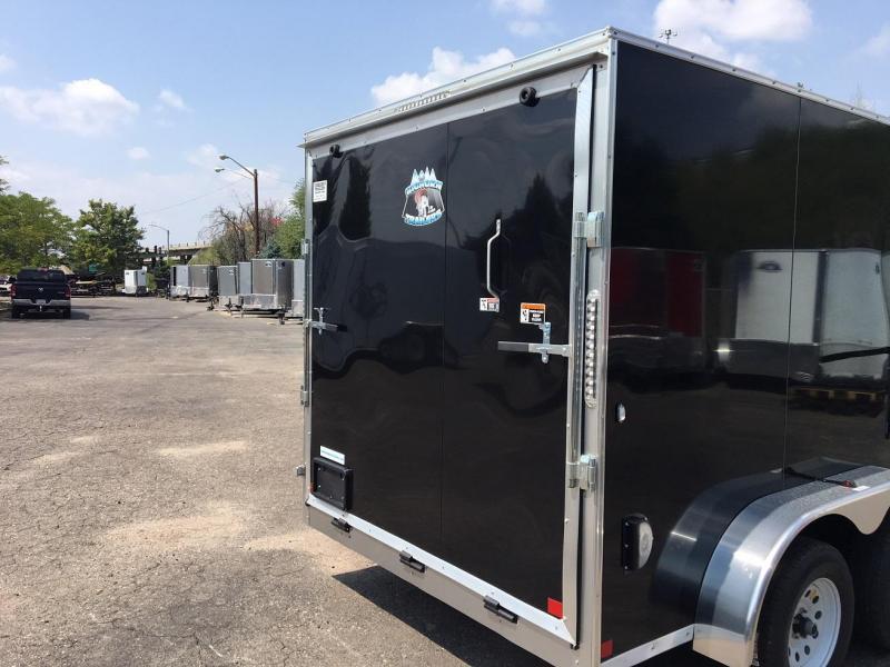2019 R&M Manufacturing EC 7 12 TA (CONTRACTOR GRADE) Enclosed Cargo Trailer-WHEAT RIDGE
