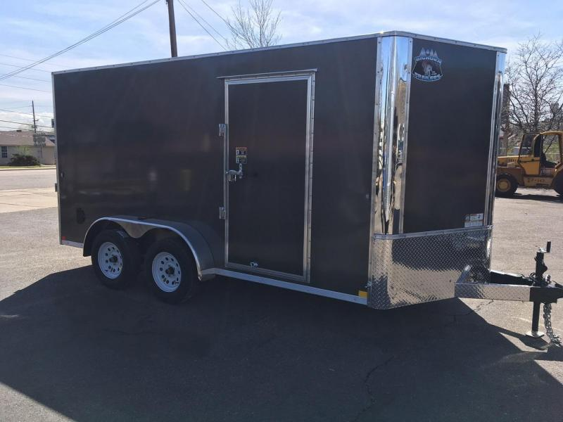 2019 R and M Manufacturing 7x14 Contractor Grade Enclosed Cargo Trailer-WHEAT RIDGE
