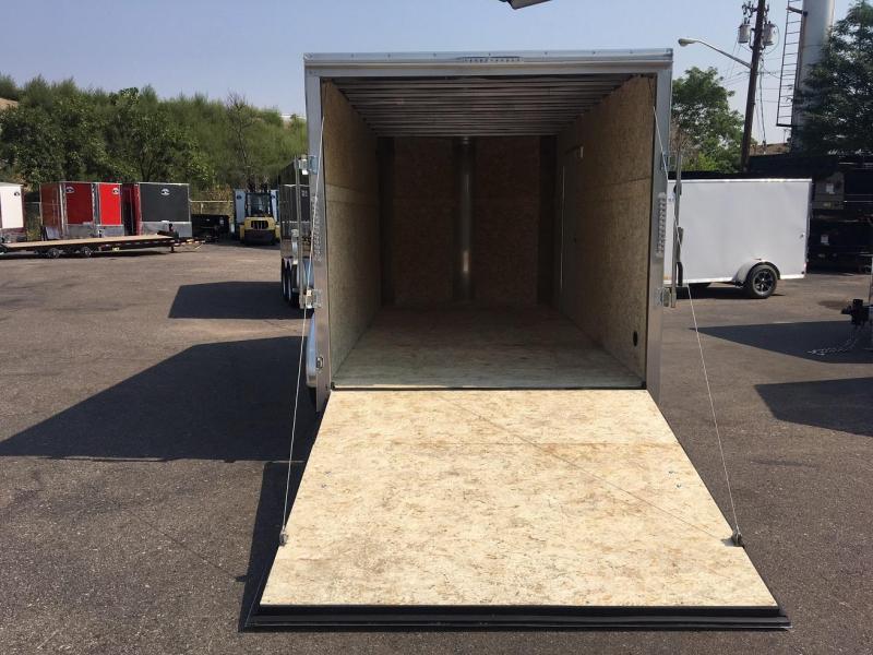 2019 R and M Manufacturing 7x14 Contractor Grade Enclosed Cargo Trailer-WHEAT RIDGE