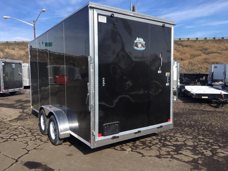 """2020 R&M 7X16 90"""" Enclosed Cargo Trailer"""