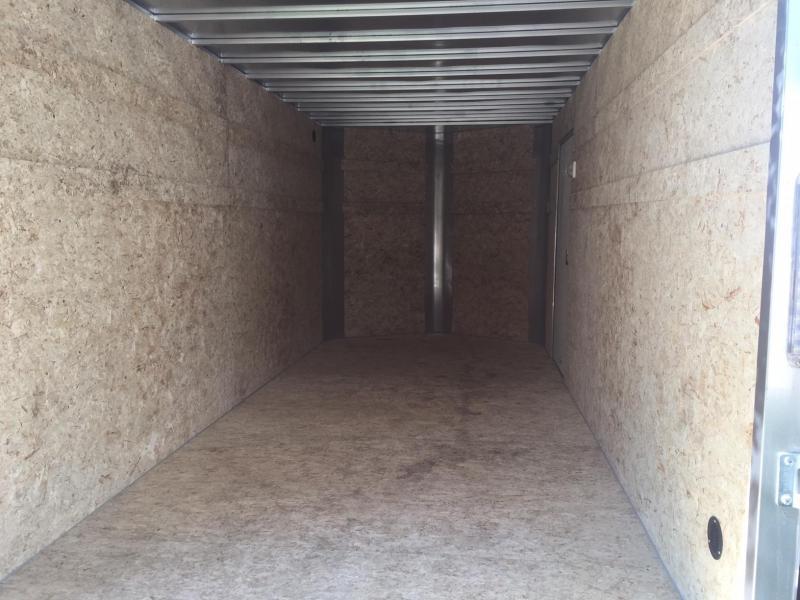 2019 R&M Manufacturing EC 7 16 TA BLACK ALUMINUM Enclosed Cargo Trailer