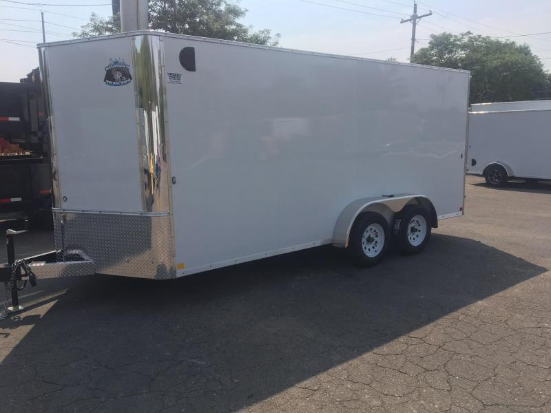 2020 R&M MFG 7x16 TAC Enclosed Cargo Trailer-Wheat Ridge