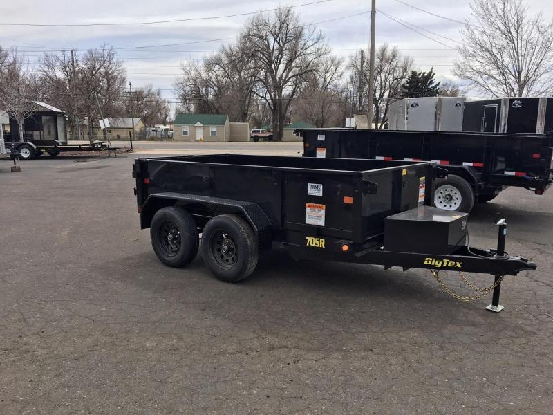 2019 Big Tex Trailers 70SR Dump Trailer-WHEAT RIDGE