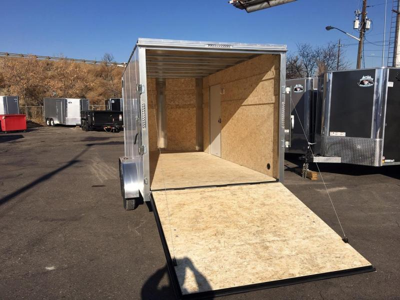 2019 R and M Manufacturing 7x14 TAS Enclosed Cargo Trailer-Wheat Ridge