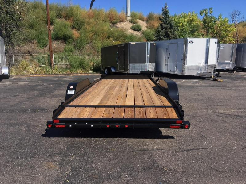 2018 Big Tex Trailers 70CH-20 W/DOVETAIL Car / Racing Trailer