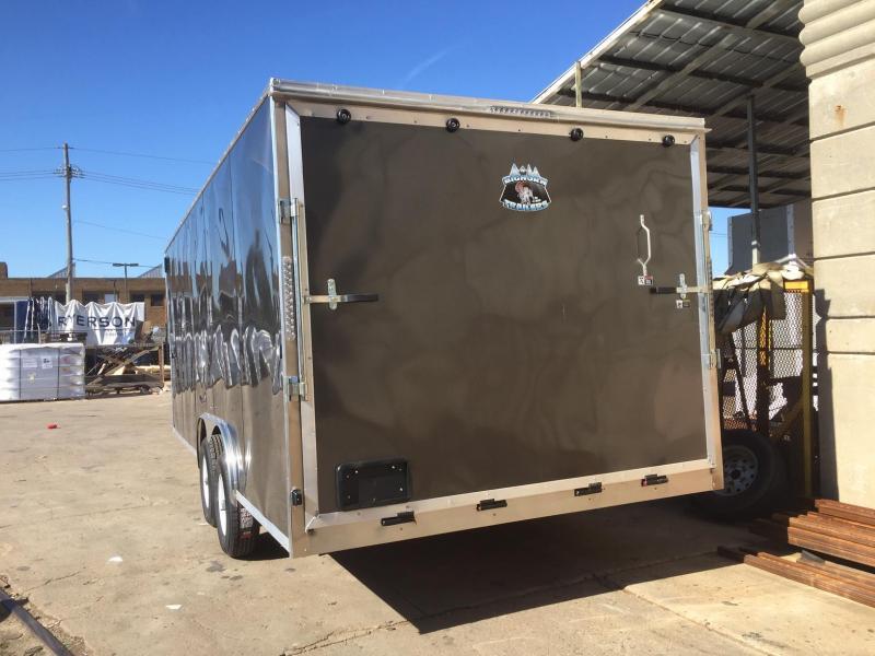 2019 R and M Manufacturing EC 8.5 20 TAS Enclosed Cargo Trailer
