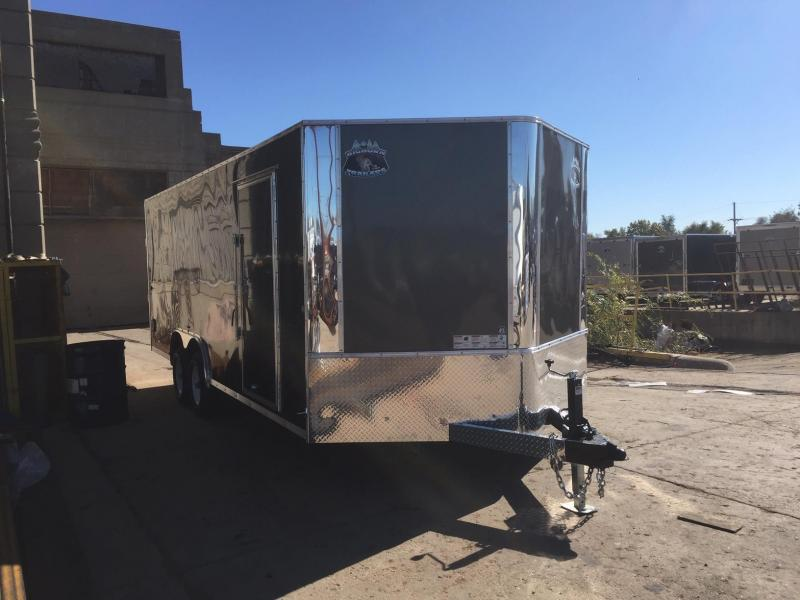 2019 R and M Manufacturing EC 8.5 20 TAS Enclosed Cargo Trailer